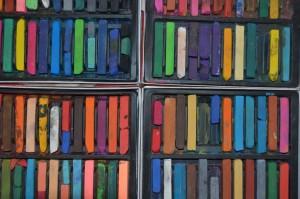 craie de couleurs
